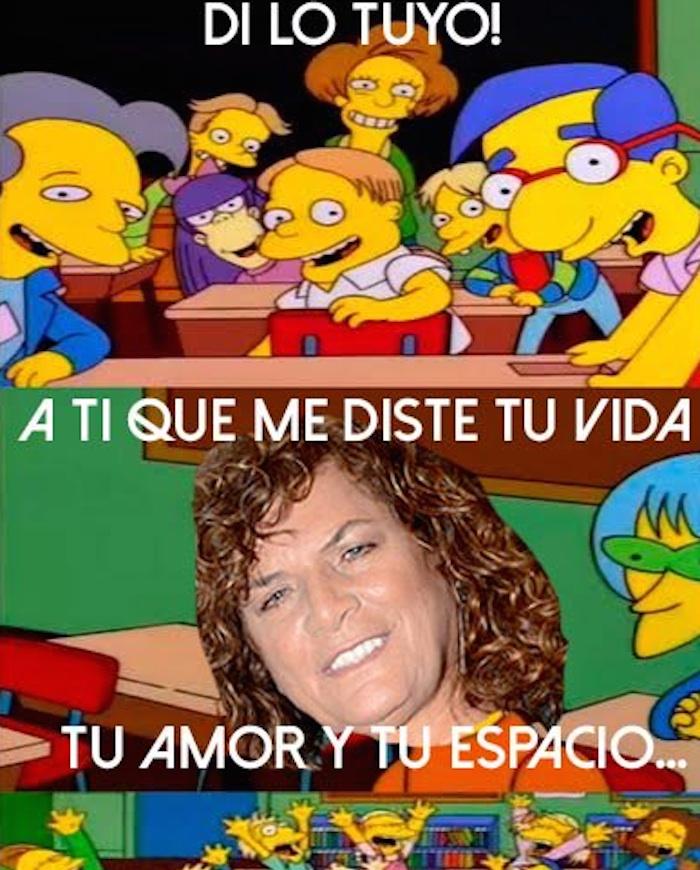 """""""Tengan tantita madre con Denisse de Kalafe JAJAJAJA"""". Foto: Twitter vía @Cabrondelabarba"""