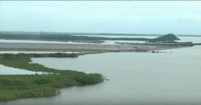 Wl agua del humedal Santa María, Topolobampo y Ohuira es un sitio protegido por normas ambientales de carácter internacional. Foto: YouTube