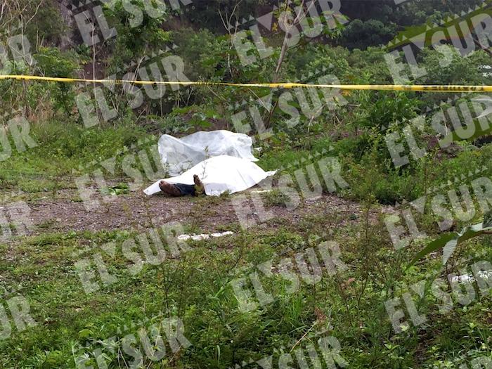 Dos jóvenes ejecutados a balazos y tres heridos, en tres hechos distintos en Guerrero. Foto: El Sur.