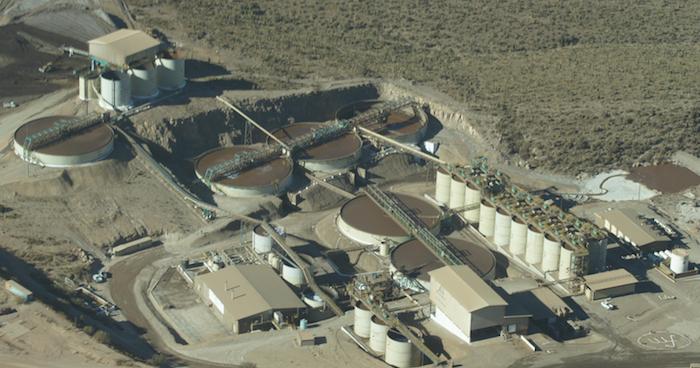 La planta de First Majestic acusada de contaminar el agua. Foto: Foto: First Majestic