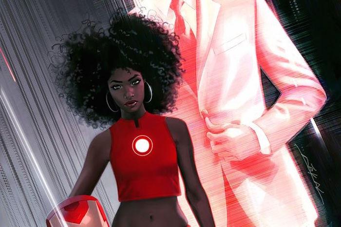 La próxima Iron Man será una joven negra. Foto: ElDiario.es