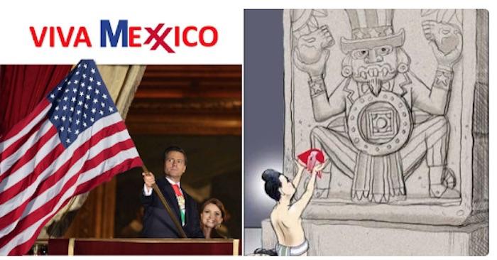 El Presidente Enrique Peña Nieto vuelve estar en el escaño. Foto: Twitter vía @Sr_German