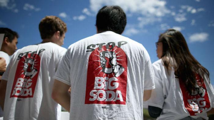 Campaña en Berkeley por el impuesto a las bebidas azucaradas. Foto: Especial