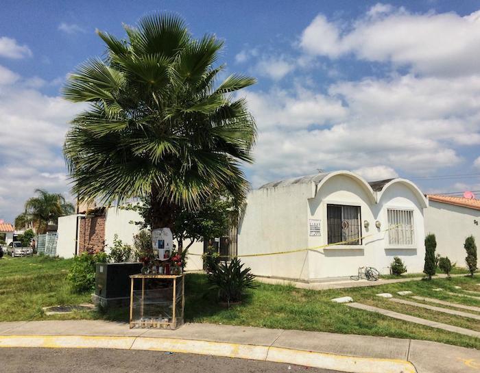 En una esquina de la calle Capela, fraccionamiento Los Agaves, está la casa de Sol, Alberto y Óscar. Foto: VICE News