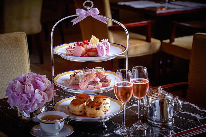 """El """"Afternoon Tea"""" también será muy rosado. Imagen: The Peninsula Hotels/Another Company"""