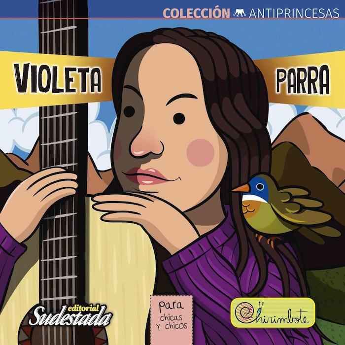 Portada del libro de la cantante Julieta Parra. Foto: Por Editorial Chirimbote.