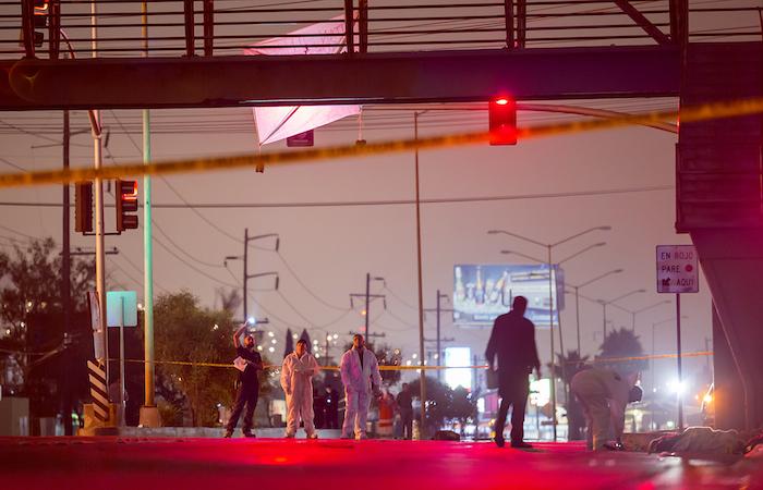 Cuatro cadáveres descuartizados fueron localizados el pasado 3 de septiembre en un bulevar de Tijuana. Foto: Cuaroscuro