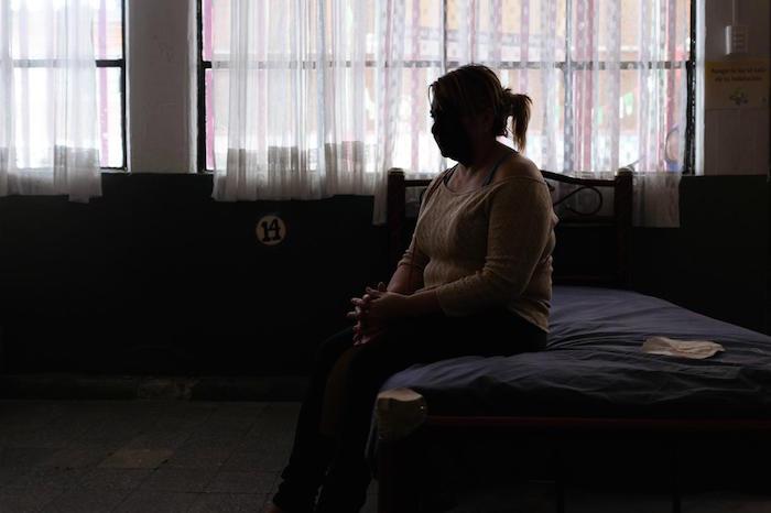 Las visas humanitarias que otorga México son pocas y difíciles de conseguir, lo que agrava la salud de las portadoras de VIH. Foto: Iván Alamillo, VICE News
