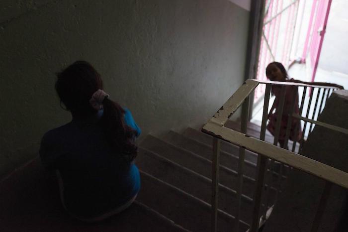 La edad media de las desplazadas por VIH en México es de 35 años y la mayoría vienen de Honduras, un país hostil para la gente en esa condición. Foto: Iván Alamillo, VICE News