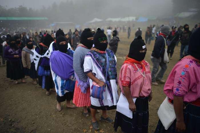 Una mujer será nombrada para encabezar un concejo de gobierno indígena y ser candidata a la Presidencia de la República. Foto: Cuartoscuro.