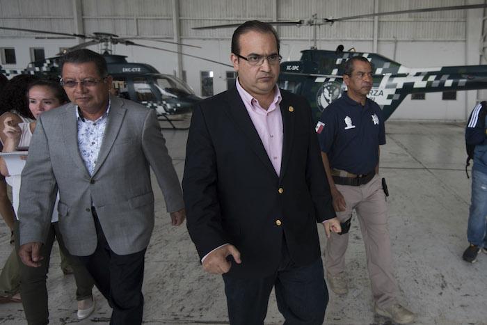 El Gobernador con licencia Javier Duarte, actualmente prófugo. Foto: Cuartoscuro
