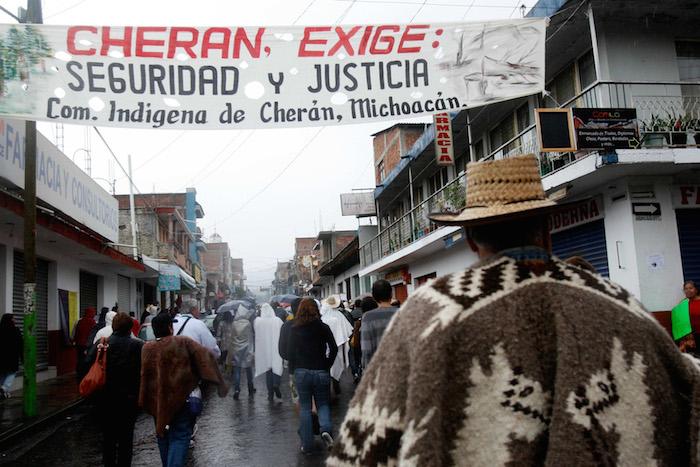 Los cinco años de resistencia y lucha de Cherán. Foto: Cuartoscuro.