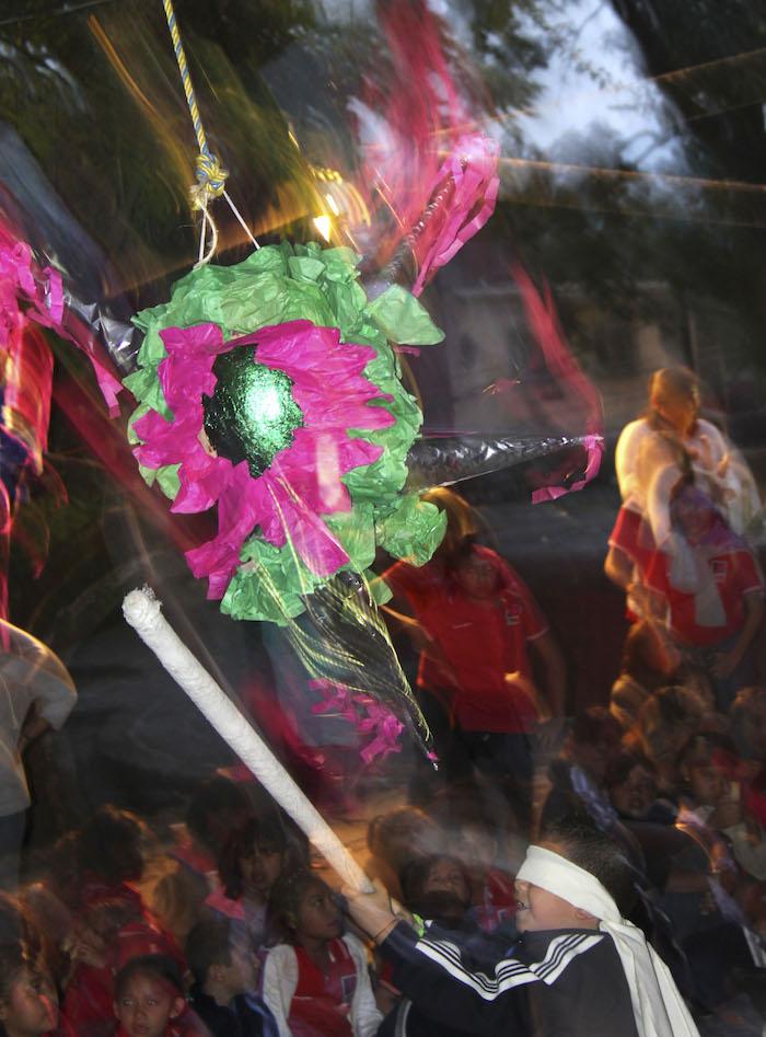 Los centros culturales también organizan sus posadas, en la imagen, una celebrada en el Jardín Borda de Cuernavaca.Foto: Cuartoscuro