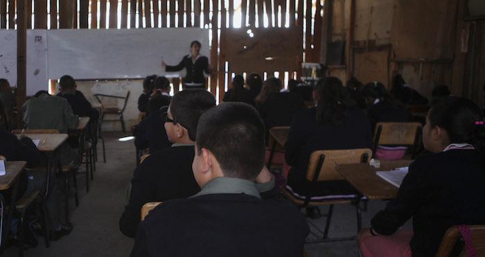 Un regreso a clases en una escuela de Michoacán. Foto: Archivo, Cuartoscuro