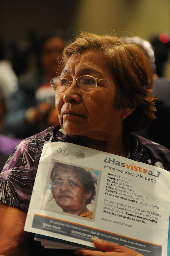 A pesar de la demanda, la iniciativa contra las desapariciones forzadas no ha sido aprobada en el Senado. Foto: Armando Monroy, Cuartoscuro