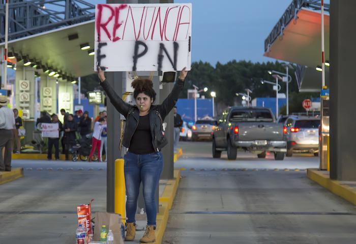 Manifestaciones en Tijuana. Foto: Cuartorcuso