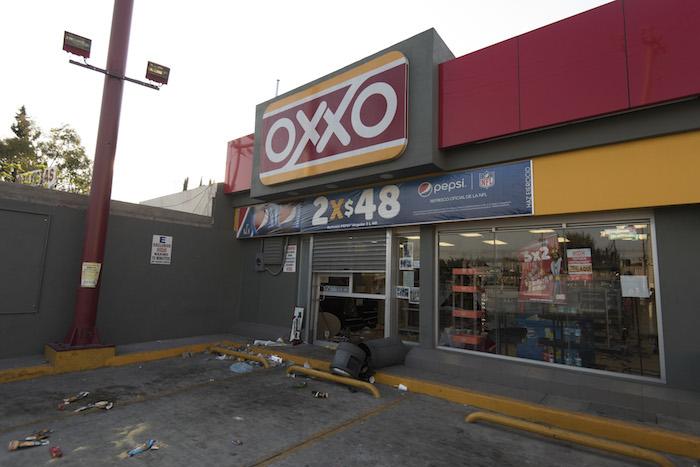 La semana pasada, decenas de establecimientos y gasolineras se vieron afectadas por la ola de saqueos que se registraron en el Edomex. Foto: Cuartoscuro