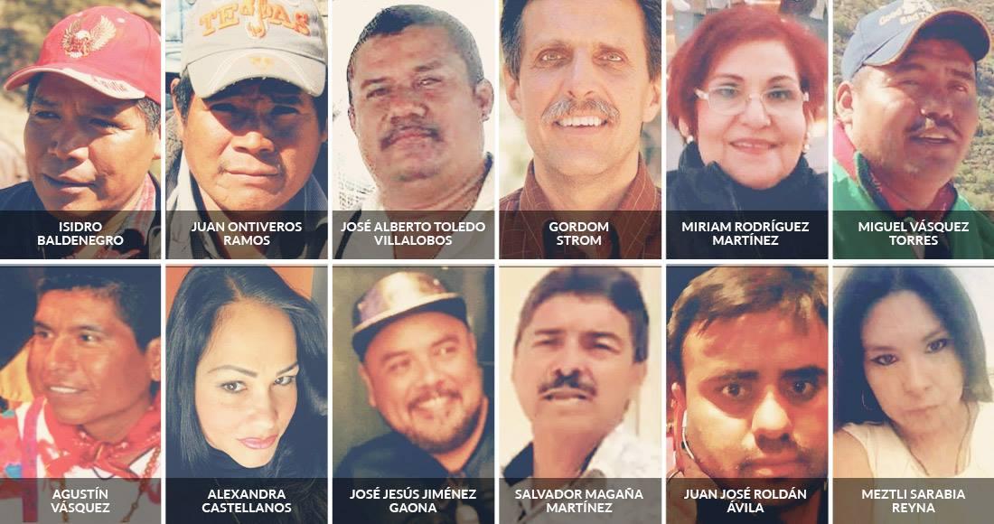 Los activistas mexicanos pagaron durante 2017 una alta cuota de sangre: 34 fueron asesinados | SinEmbargo MX