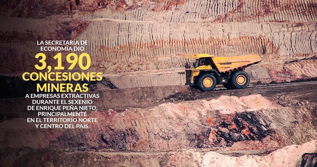 Mineras de Canadá, EU y México y concesiones | SinEmbargo MX