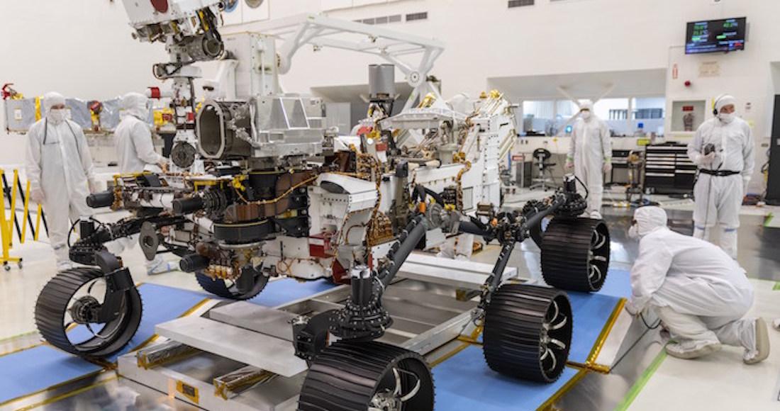 rover 2020 1 - La NASA comparte el primer audio grabado por el rover Perseverance en su viaje hacia Marte
