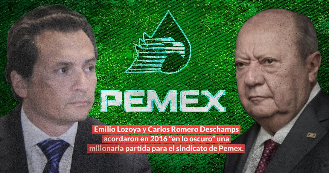 pemex lozoya deschamps - El País: FGR abrió 12 expedientes a Romero Deschamps. Ya cerró 9. Y sólo quedan los que inició la UIF