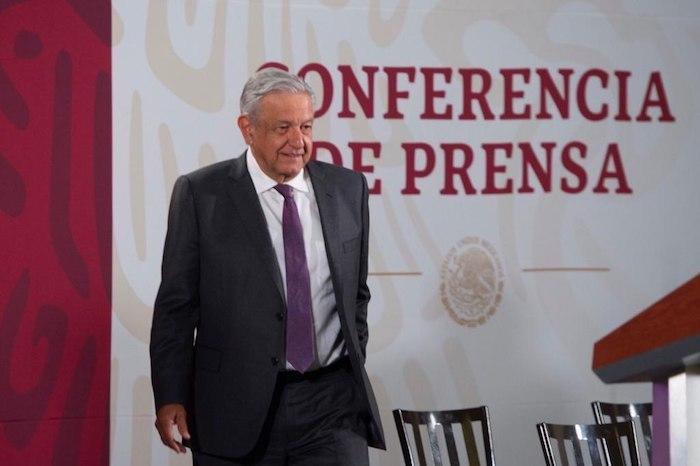 AMLO acudió a su tradicional encuentro matutino con los medios de comunicación en Palacio Nacional. Foto: Gobierno de México