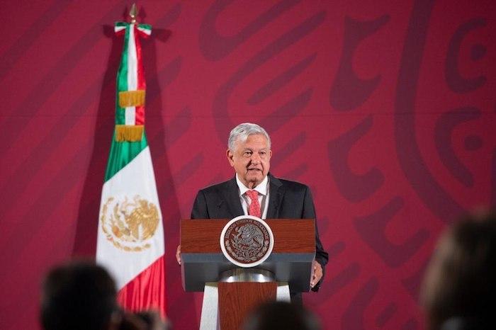 AMLO encabezó este martes du tradicional encuentro matutino con la prensa. Foto: Gobierno de México