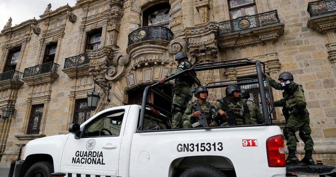 guardia nacional sin dar resultados - Patrulla de la Guardia Nacional cae a barranco de 10 metros en Jalisco; dos elementos fallecen