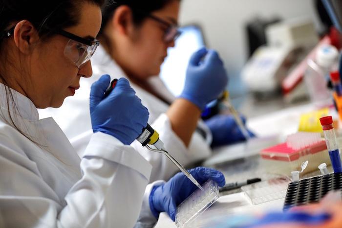 Una decena de científicos brasileños de diversas áreas investiga desde hace un mes una vacuna a través de partículas artificiales semejantes al coronavirus. Foto: EFE