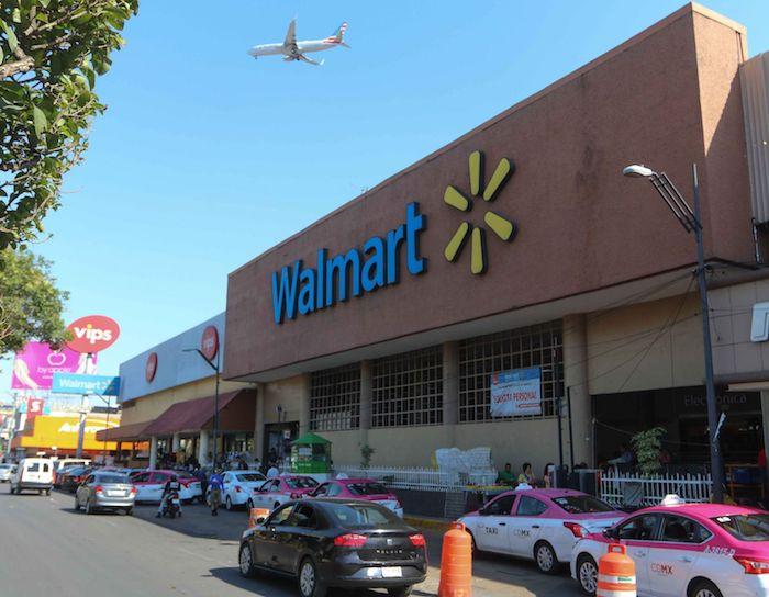 Las instalaciones de una sucursal de Walmart.