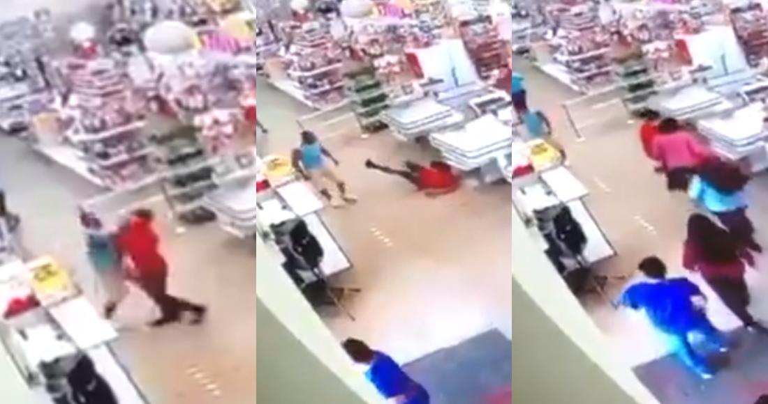 golpea empleado - VIDEO FUERTE: Mujer apuñala al conductor de un autobús que le pidió usar cubrebocas, en Argentina
