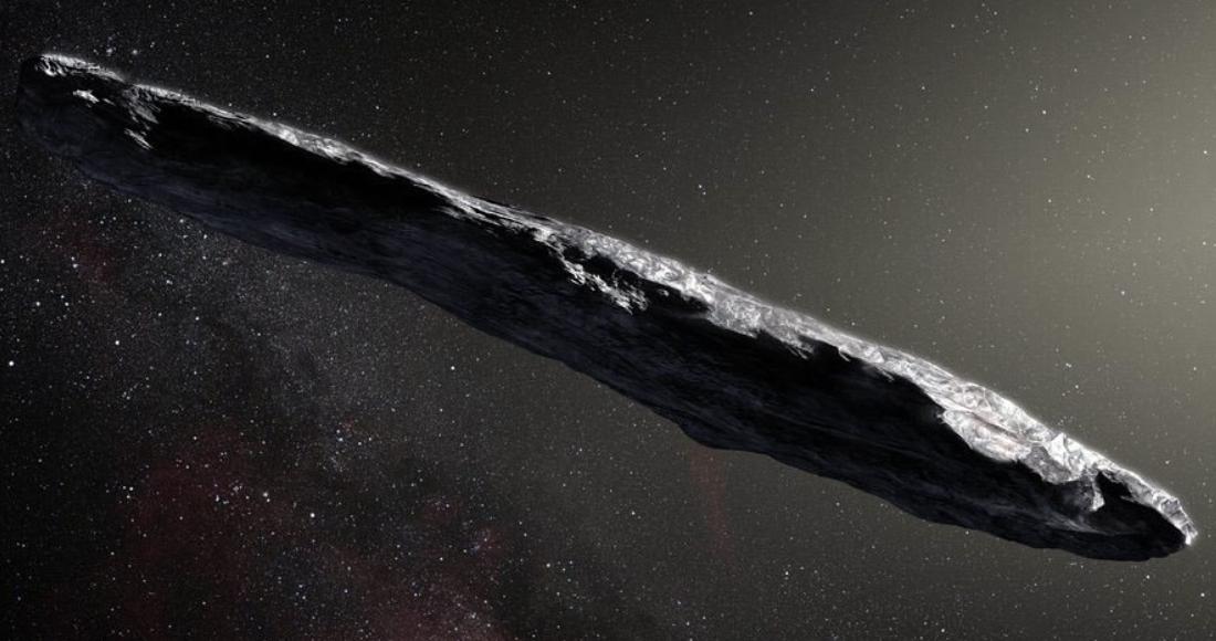 """oumuamua 1 - El asteroide Oumuamua es una """"pieza de tecnología avanzada alienígena"""", asegura astrónomo de Harvard"""