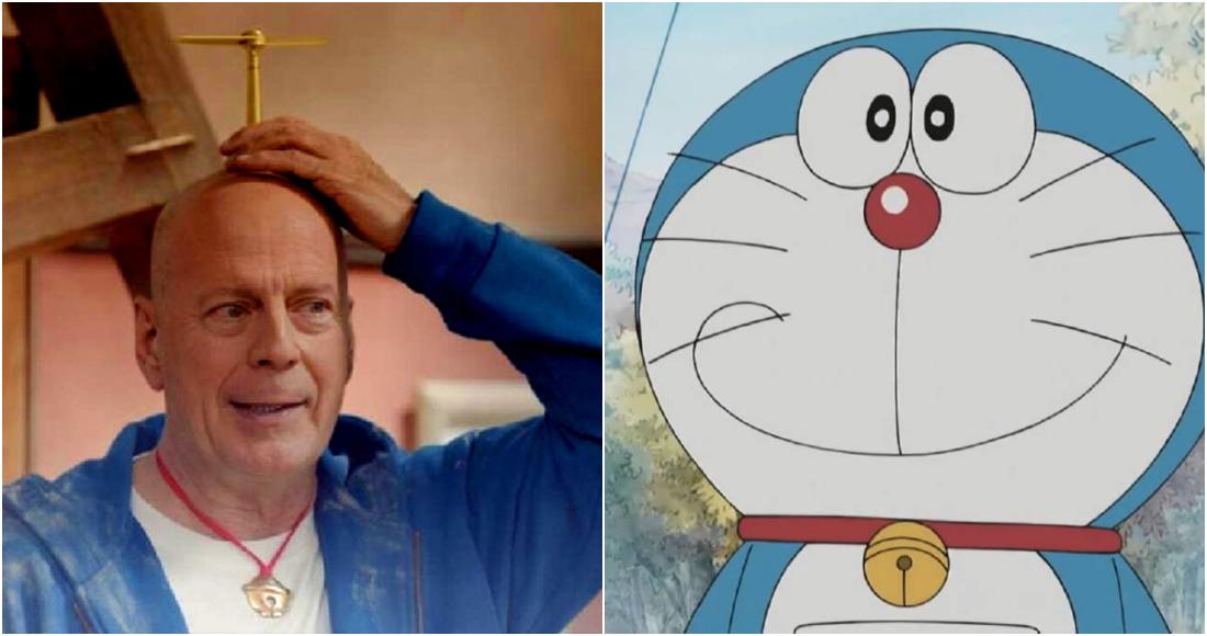 Video Bruce Willis Se Convierte En Doraemon El Gato Cósmico En Un Anuncio Japonés Sobre El 5g Sinembargo Mx