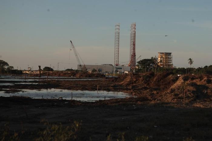 La construcción de la refinería Dos Bocas inició en junio de 2019.