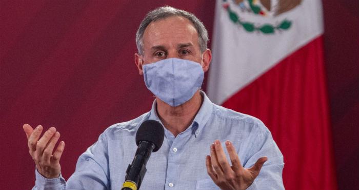 El Subsecretario de Salud, Hugo López-Gatell.