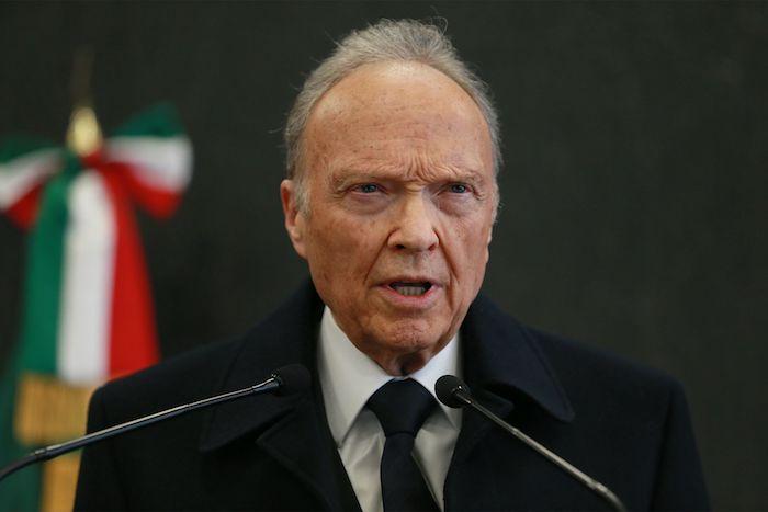 El Fiscal General Alejandro Gertz Manero.