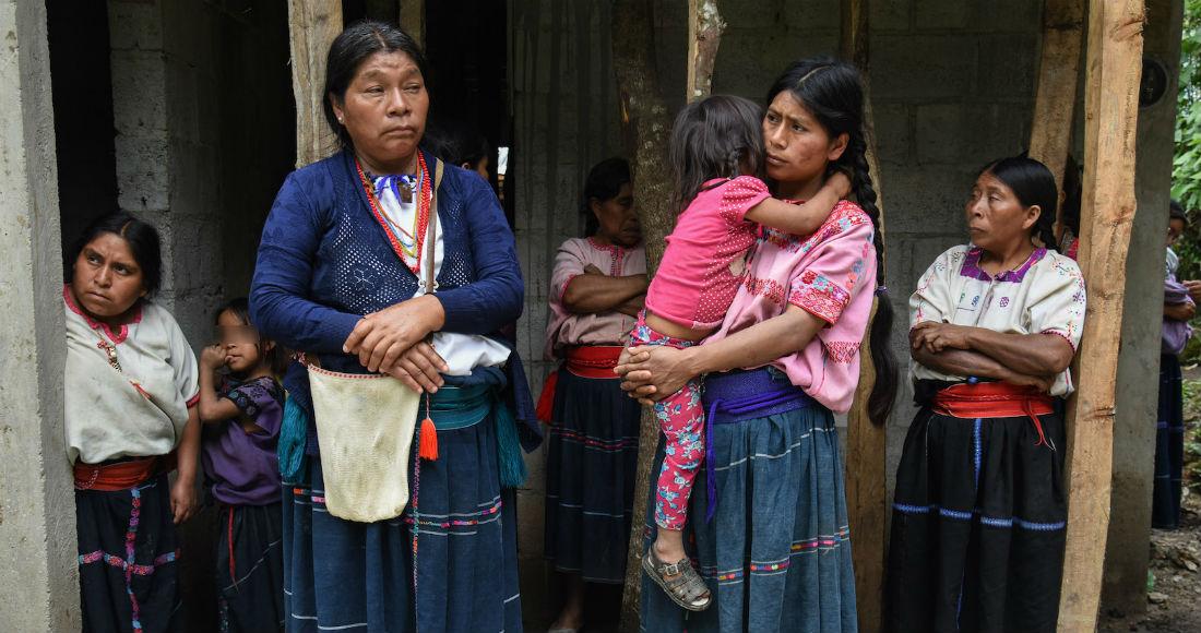 no estan obligando a defendernos indigenas desplazados de chiapas - Disputa entre tierras indígenas tseltales deja al menos 30 casas incendiadas y un herido en Chiapas