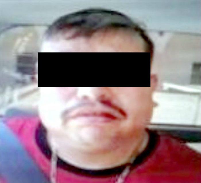 Samuel Vaca García detenido en Tecate el 27 de abril.