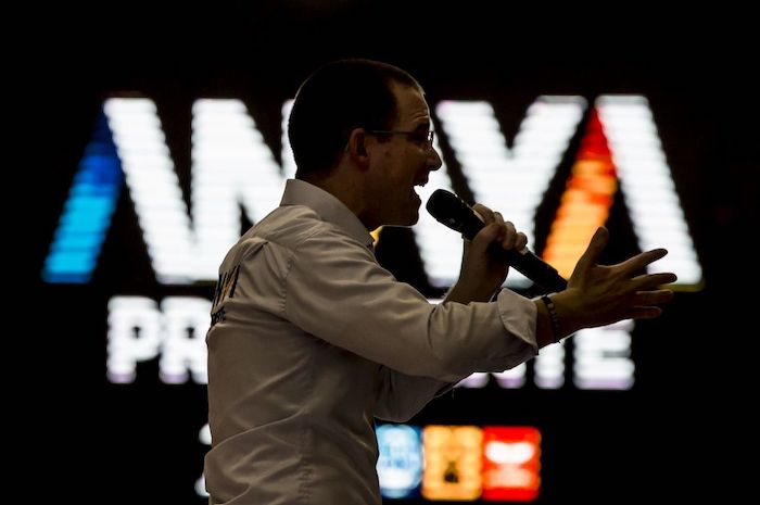 Ricardo Anaya durante un mitin en Baja California, celebrado en 2018.