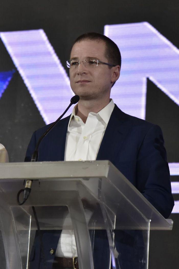 El pasado 1 de julio de 2018, Ricardo Anaya en conferencia de prensa.