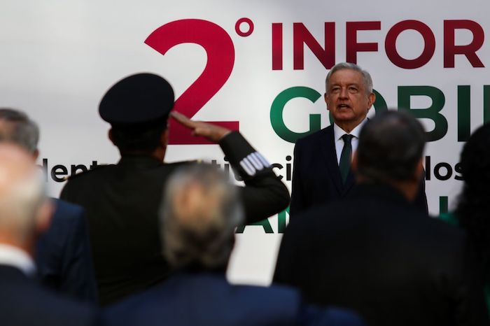 El Presidente Andrés Manuel López Obrador brindó este martes un mensaje con motivo de su Segundo Informe de Gobierno.