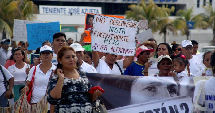 Los familiares de las víctimas de desaparición forzada esperan verdad y justicia.