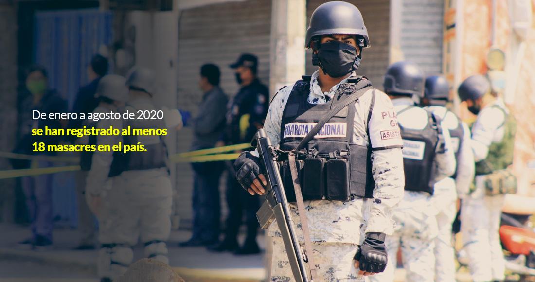 masacres20 - PERFIL | Rosa Icela Rodríguez, el comodín de AMLO para afrontar creciente inseguridad en México