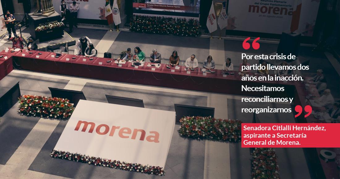 morcitla - Citlalli Hernández, secretaria general de Morena, da positivo a COVID; estoy optimista, asegura