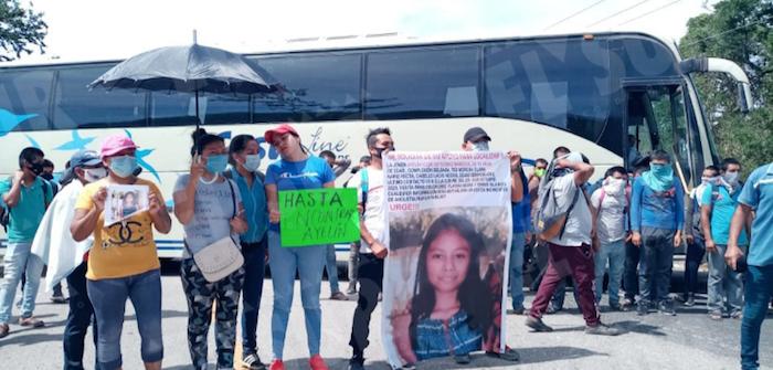 Familiares de la menor ya habían protestado para exigir su búsqueda.