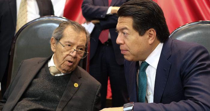 Muñoz Ledo y Mario Delgado, aspirantes a dirigir Morena.