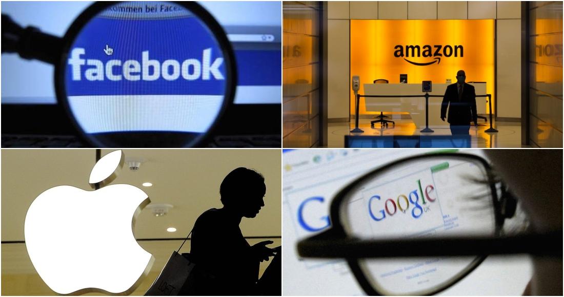 grandes tecnologicas facebook amazon apple google - Las demandas contra Google por monopolio se agolpan: van más de 38 estados de EU en sólo 2 meses