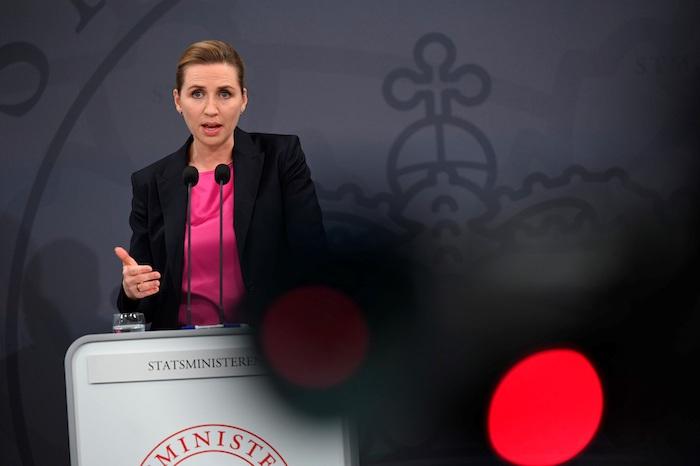 La Primera Ministra de Dinamarca, Mette Frederiksen.