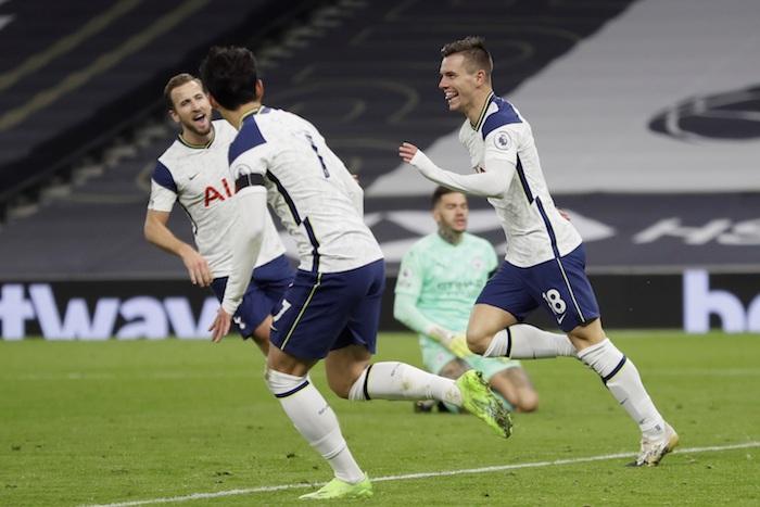 612bd5011064dad84c1db7ade2077afa69816177 - El Tottenham de José Mourinho logra derrotar 2-0 al Manchester City en el Hotspur Stadium