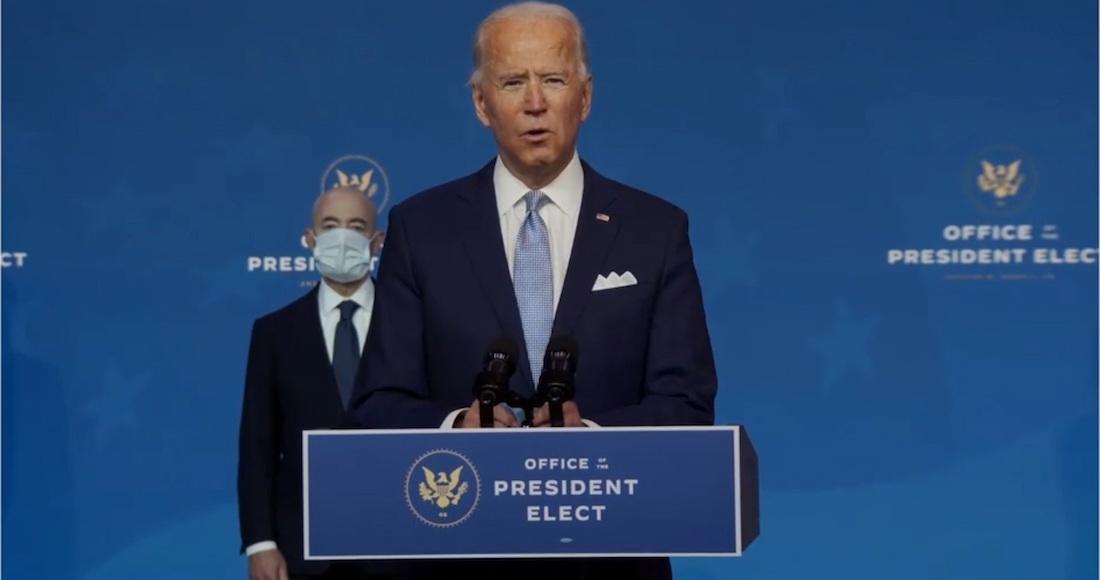 "biden 19 - ""No estaremos tan atrasados"", asegura Biden; Gobierno de Trump ha facilitado transferencia de poder, dice"